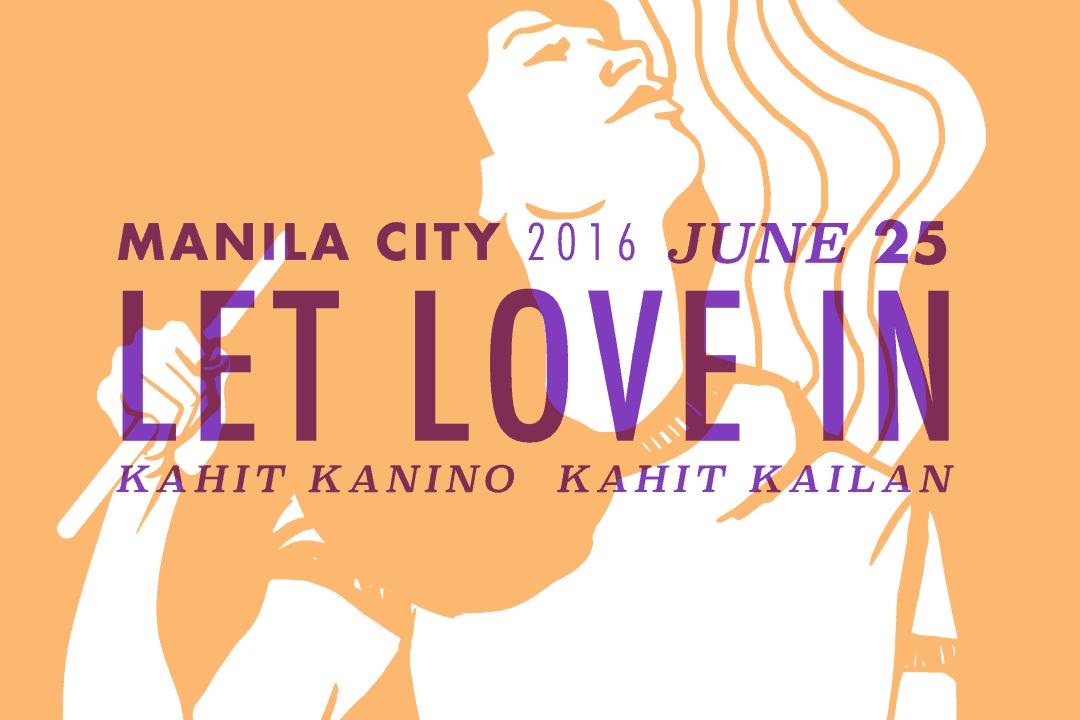 Let Love In Metro Manila Pride March