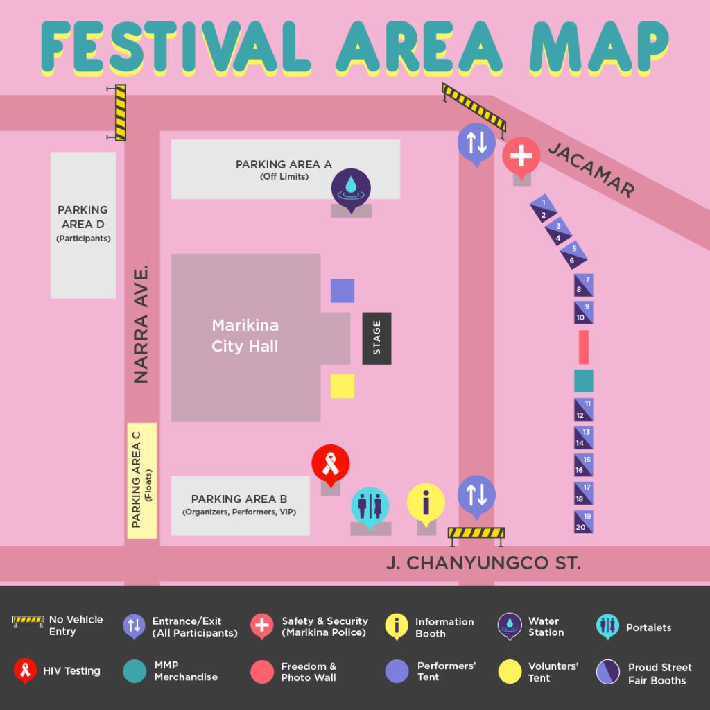 Plaza de los Alcaldes Venue Map