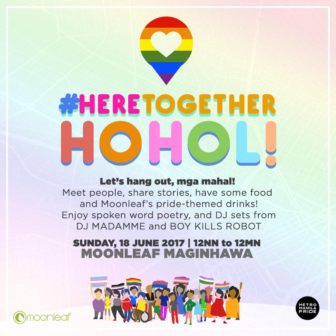 #HereTogether HOHOL Moonleaf