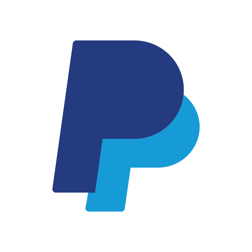 Paypal logo - 2 italicized letter
